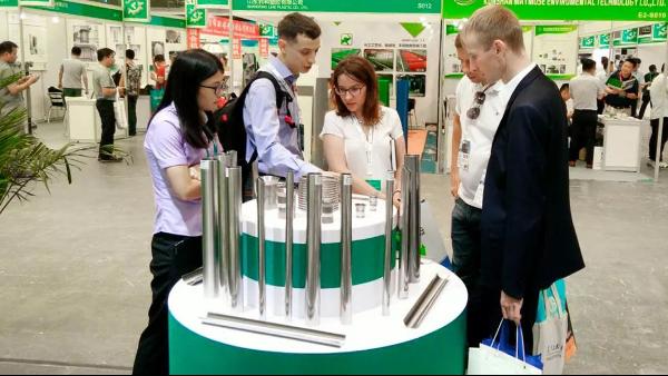 双兴不锈钢重磅亮相第十届上海国际化工装备技术展览会
