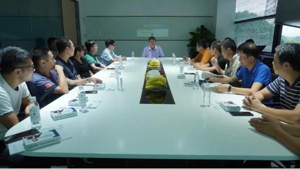 广西土木建筑学会给水排水专业委员会协会赴双兴集团参观交流