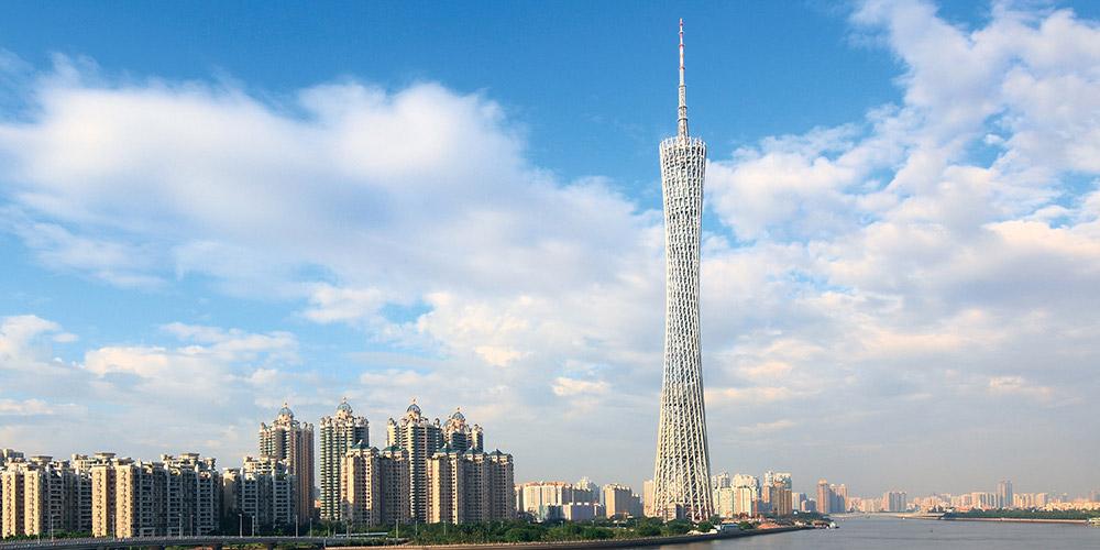 广州塔-不锈钢建筑装饰管合作案例