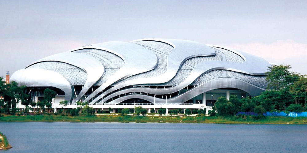 广州亚运会场馆-不锈钢结构管案例