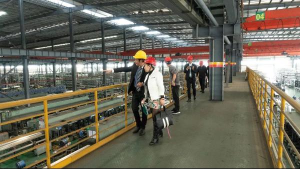 广东激光协会走访双兴不锈钢管集团
